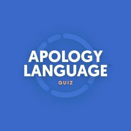 Apology Language Quiz